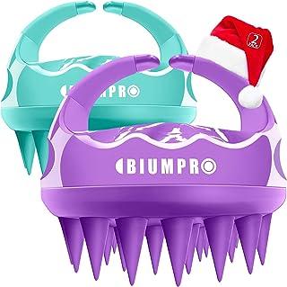 Scalp Massager Shampoo Brush 2 Pack Manual Scalp Care Brush Head Scrubber [Wet & Dry]..