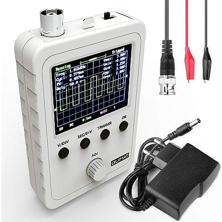 Arceli 5012h 2 4 Lcd Display Tragbares Digitales Mini Handoszilloskop Mit 100 Mhz Bandbreite Und Einer Abtastrate Von 500 Ms S Sport Freizeit