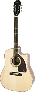Epiphone AJ-220SCE Acoustic Electric Guitar, Natural
