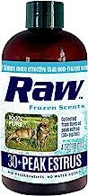 RAW Frozen Scents Peak Standing Doe Estrus Buck Attractant Whitetail Hunting Lure Urine Deer Pee in Heat