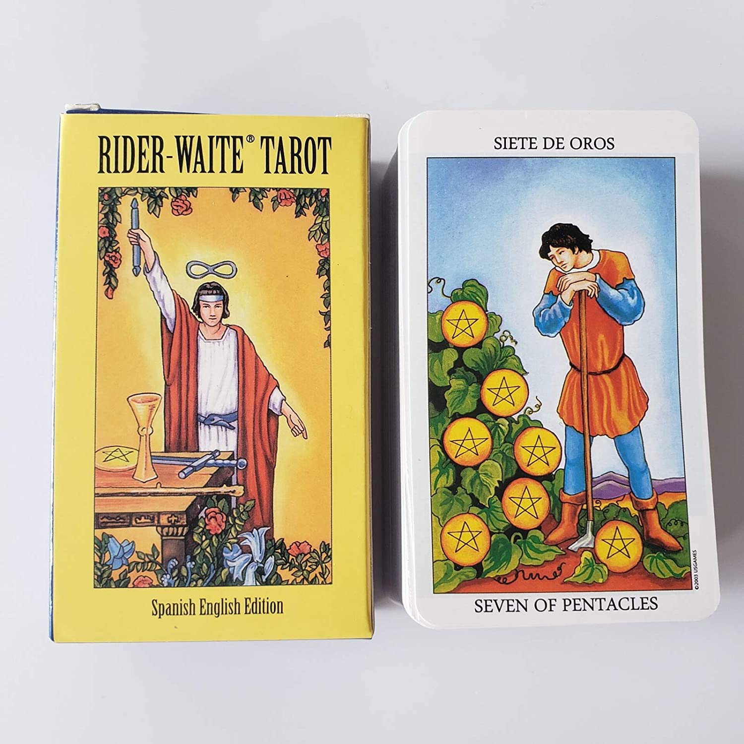 Rider Sales results No. 1 Waite Tarot Cards Cheap super special price Deck English Spanish With E-Guid Edition
