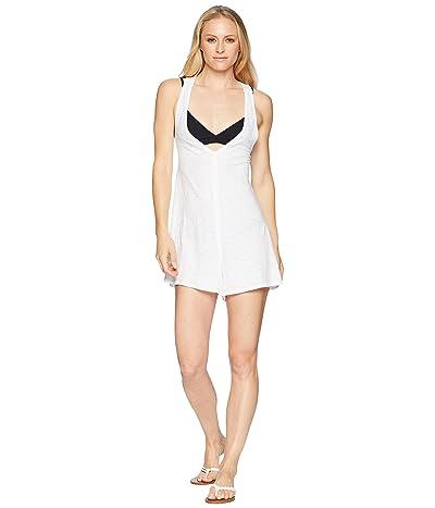 Speedo Alice Romper Swimsuit Cover-Up (White) Women