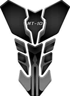 TANKPAD RESINATO EFFETTO 3D compatibile con Yamah.a Fz1 Fz1n Fz1s Fazer v1 PROTECTION DE RESEVOIR PARASERBATOIO ADESIVO TANKSCHUTZ