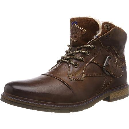 BUGATTI Schuhe Stiefel MERITON 321-81350-1200-6100 dark brown NEU braun