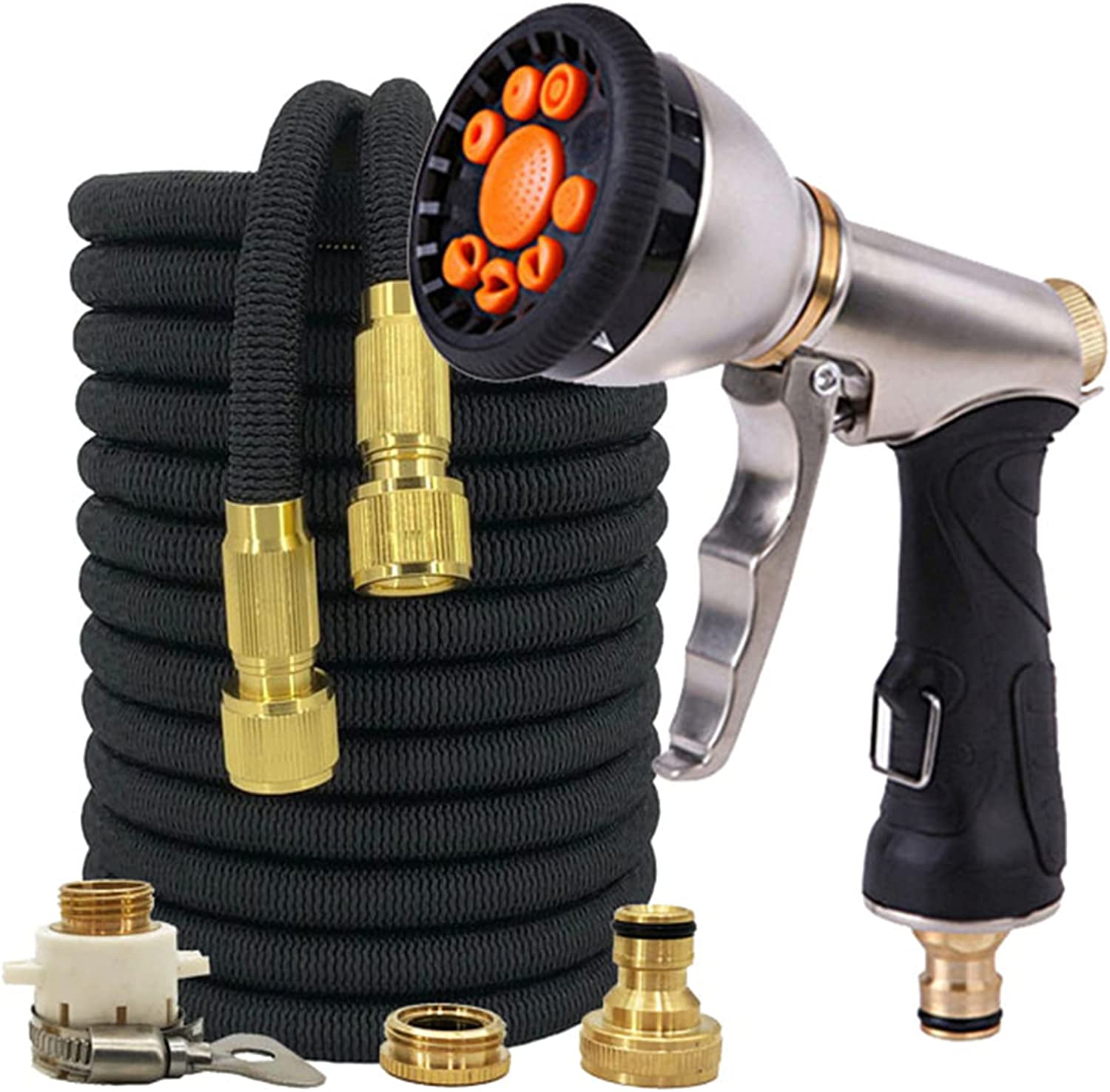 Max 56% OFF Gmjay Expandable cheap Garden Hose Water Functi 9 Gardening with