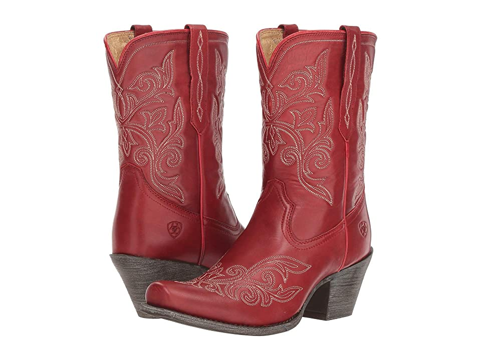 Ariat Round Up Rylan (Rogue Red) Cowboy Boots