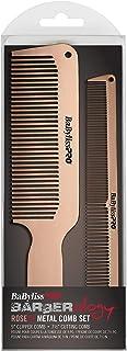 BaBylissPRO Barberology MetalFX Comb Set