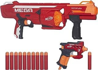 Nerf N-Strike Mega Series RotoFury Blaster with BONUS N-Strike Mega BigShock Blaster