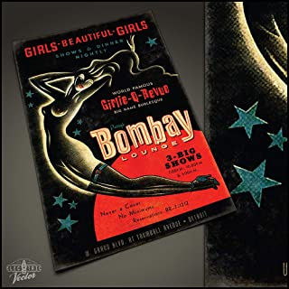 Isle of MAC Blue Poster (Bombay Lounge Poster…)