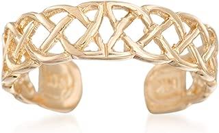 Ross-Simons 14kt Yellow Gold Celtic Knot Toe Ring