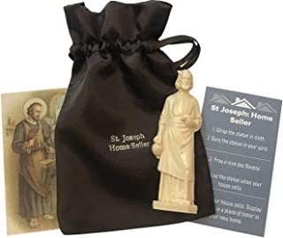 Westman Works Saint Joseph Complete Home Selling Kit with Instructions Holy Card and Burial Bag
