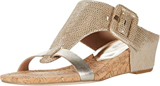 Donald J Pliner Women's Wedge Sandal, Platino, 9