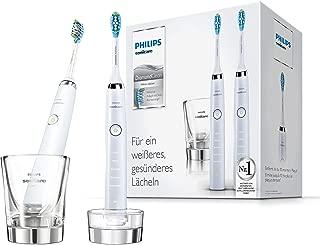 Philips 飞利浦 Sonicare DiamondClean新一代电动牙刷 采用声波技术HX9327/87, 白色,2支装