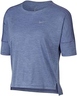 Womens Dry Medalist Short Sleeve Running Shirt Purple Slate/Royal Tint 890093-522