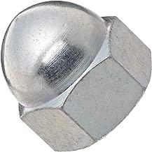 Zinc Plated Steel Acorn Nut, USA Made, 5/8