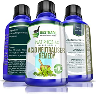Natrum Phosphoricum 6X Glass Bottle | Acid Neutralizer Remedy