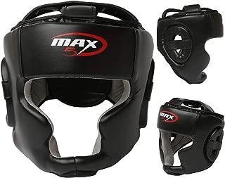 Dr KO Caschetto Boxe MMA Pugilato Casco Kick Boxing Protezione Muay Thai Rinforzato con Faccia Bar L