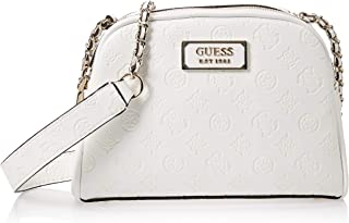 Guess Womens Cross-Body Handbag, Off-White - SG766214