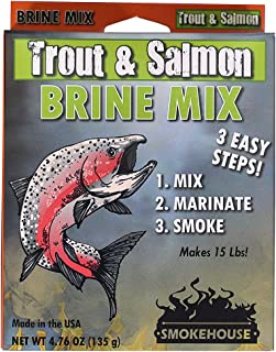 Smokehouse Products Trout-Salmon Flavored Natural Brine Mix