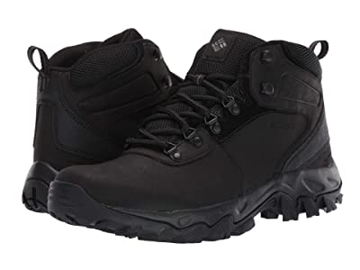 Columbia Newton Ridgetm Plus II Waterproof (Black/Black) Men