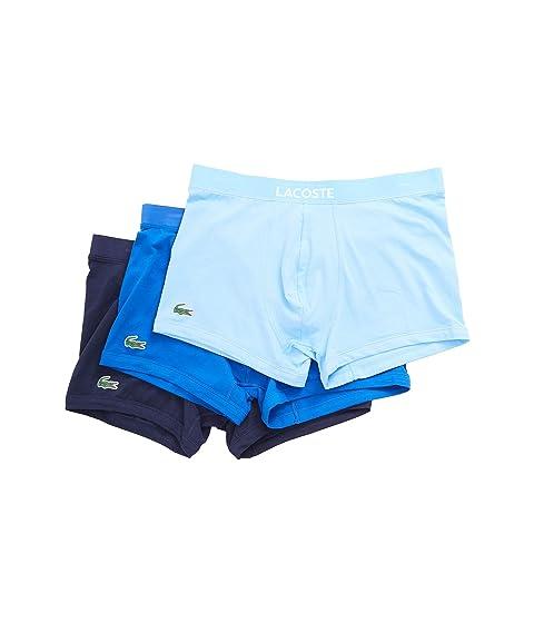 surtido Pack Lacoste Tronco 3 Color azul EwXU0q