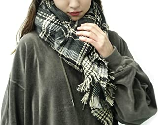 women's Elegant lattice Oversized Warm Scarf