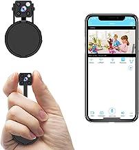 Mini Spy Camera WiFi, Relohas HD 1080P Spy Camera Wireless Hidden Live Streaming, Upgraded Night Vision/ Motion Activated ...