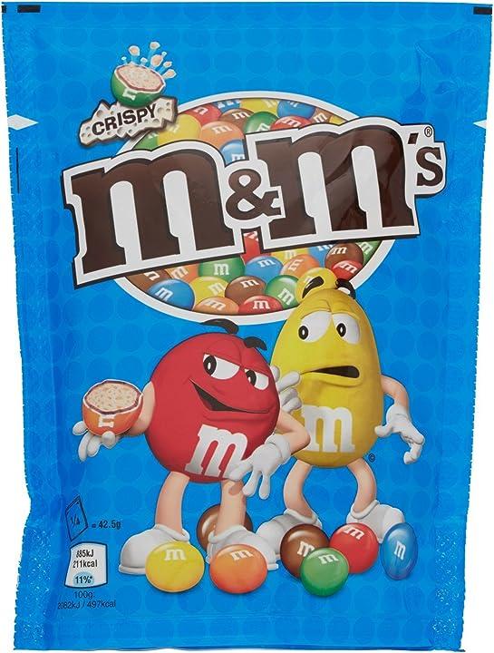 M&m`s crispy pouch, 170g B003UBFYK2