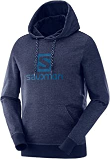SALOMON Men's Logo Sweatshirt Hoodie, Men's