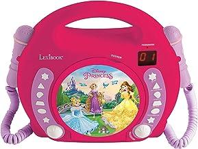 Lexibook Disney Princesses Raiponce Lecteur CD pour enfant avec 2 microphones jouets,..
