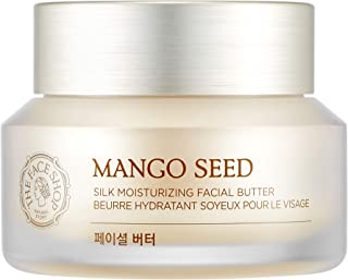 [THEFACESHOP] Mango Seed Silk Mositurizing Facial Butter For Dry Skin, 50mL/1.69Oz