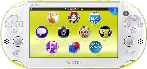 PS Vita Slim - Lime Green / White - Wi-fi (PCH-2000ZA13)