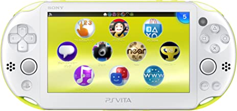 PS Vita Slim - Lime Green / White - Wi-fi (PCH-2000ZA13)