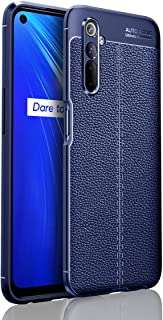 Wuzixi Case for Realme 6.Soft Silicone Sleeve Design, Shockproof and Durable, Cover Case for Realme 6.Blue