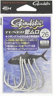 がまかつ(Gamakatsu) シングルフック チューンド 管ムロ シルバー 66493