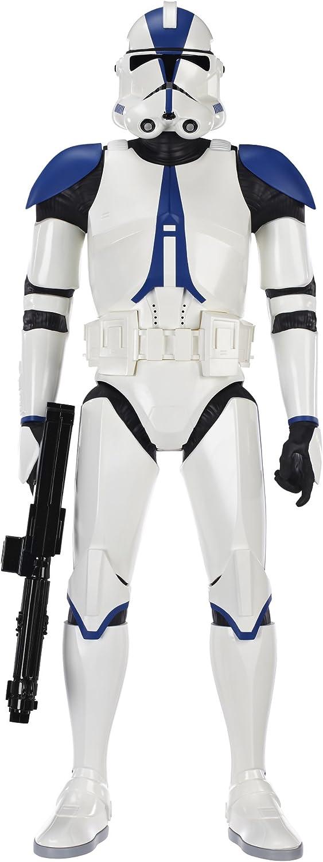 Jakks Pacific - Figurine Star Wars - 501ème Clone Trooper 80cm - 0045672652201