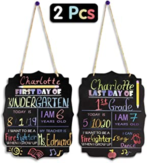 Best 1st day of school personalized chalkboard Reviews