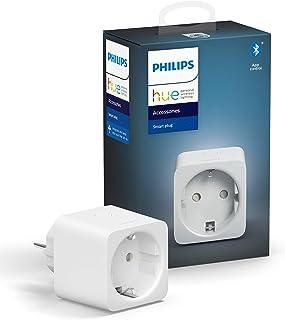 Philips Hue smart plug - Voeg Elke Lamp Toe aan je Hue Systeem - Compacte Slimme Stekker - Verbind met Bluetooth of Hue Br...