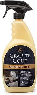 Granite Gold GG0069 Quartz Brite Spray Deeps Cleans and Polishes Quartz Surfaces, 24 Ounce