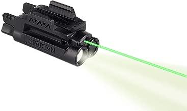 LaserMax Spartan Adjustable Rail Mounted Laser/Light Combo (Green) SPS-C-G