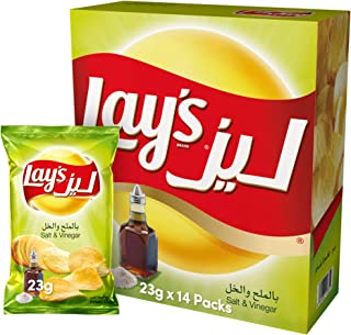 Lay's Salt & Vinegar 23gmx14