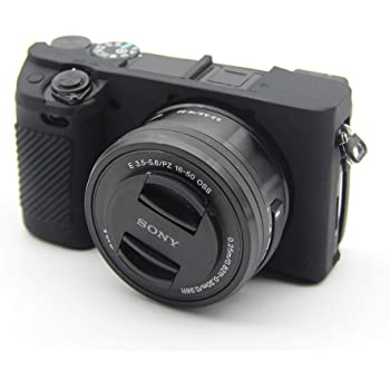 Cover Housing Case silicone black for Sony Alpha 6300 A6300