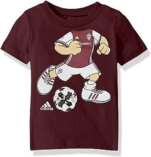 MLS Colorado Rapids Boys Dream Job Soccer Player Short Sleeve Tee, 12 Months, Burgundy
