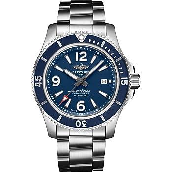 Mens Breitling Superocean 44mm Watch 1000 Meter Waterproof