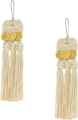 SHASHI - River Tassel Earrings
