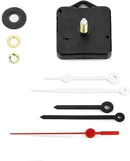 Clock-It Mécanisme d'horloge silencieux avec crochet, à mouvement continu, 2sets d'aiguilles, douille de 22mm de hauteur...