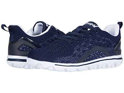 Propet TravelActive Axial (Navy/White) Women