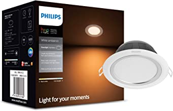 Philips Hue white ambiance Aphelion LED downlight  (Smart lighting that is compatible with Amazon Alexa, Apple HomeKit and The Google Assistant)