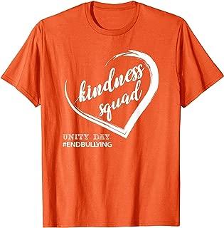Kindness Squad End Bullying Orange National Unity Day T-Shirt