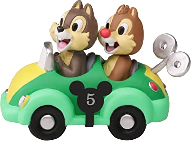 Precious Moments Disney Collectible Parade Chip and Dale Figurine, Multi